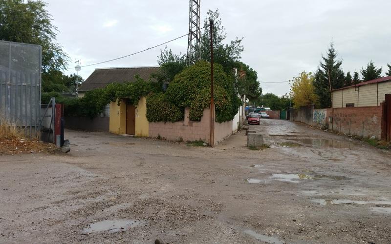 Cañada Real a su paso por Rivas