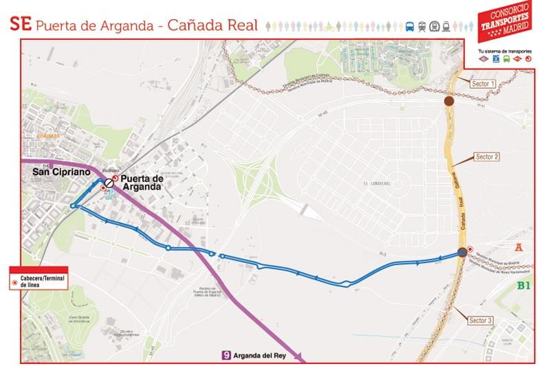 Arranca la línea de EMT Puerta de Arganda-Cañada Real