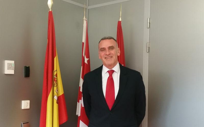 José Antonio Riber, portavoz del PP en Rivas