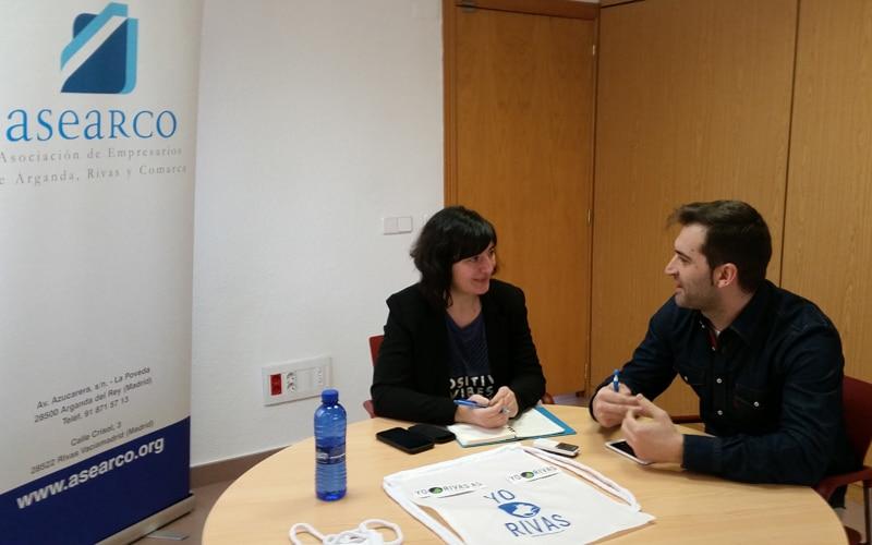 Entrevista con David París, de Asearco