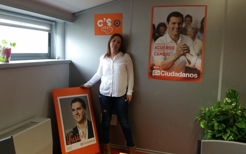 Beatriz Sobrino, portavoz de Ciudadanos en el Ayuntamiento de Rivas