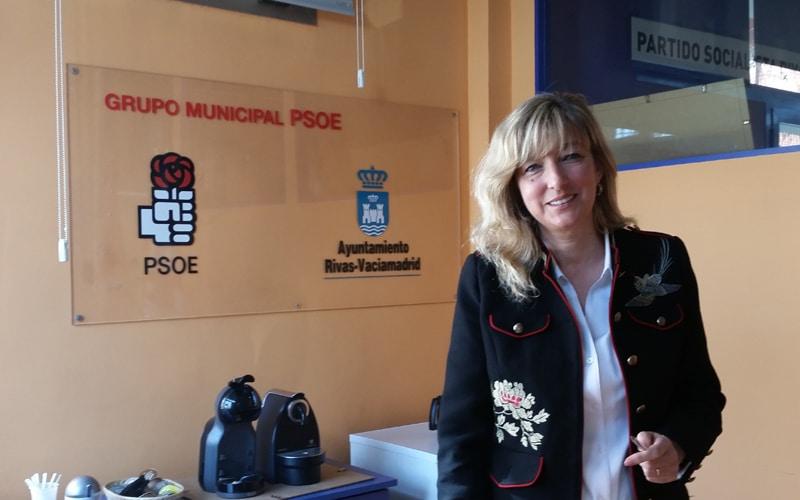 Carmen Pérez Gil, portavoz del PSOE en el Ayuntamiento de Rivas Vaciamadrid