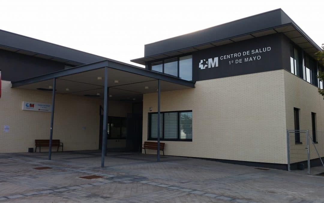 El turno de tarde del Centro de Salud 1º de Mayo de Rivas cierra hasta nuevo aviso