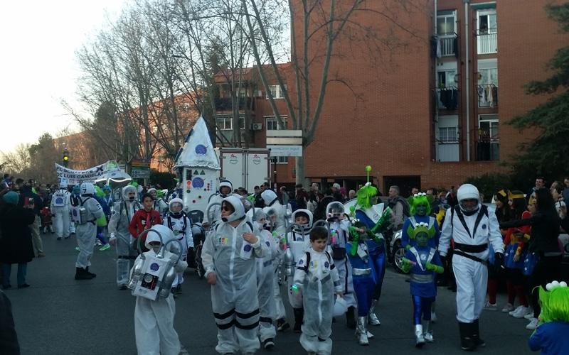 Así fue el desfile de Carnaval 2017 en Rivas