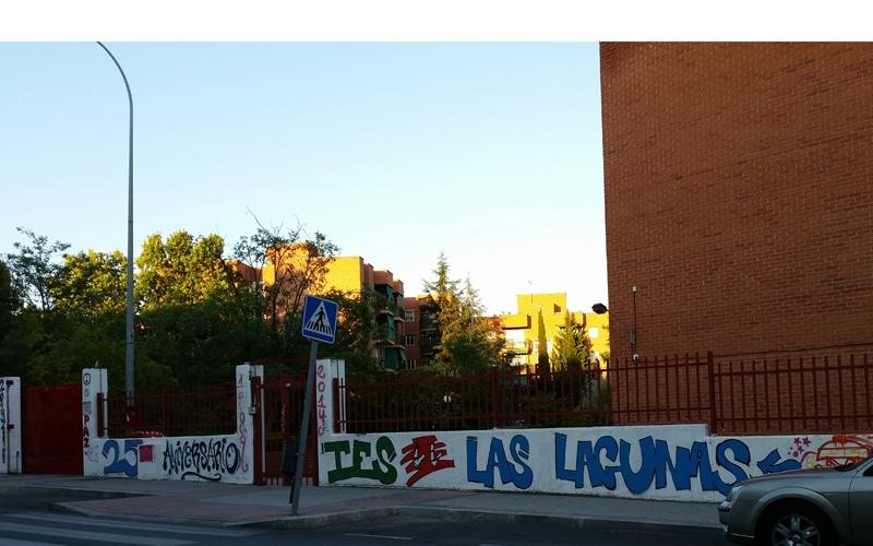 IES Las Lagunas en Rivas Vaciamadrid