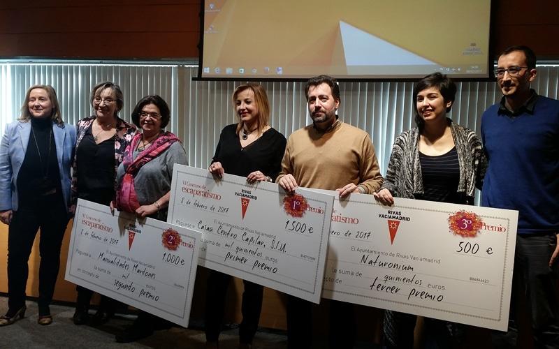 Premiados los mejores escaparates navideños de Rivas