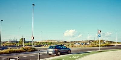 El Ayuntamiento de Rivas instala cámaras de tráfico en el Camino de la Leña y la M-823