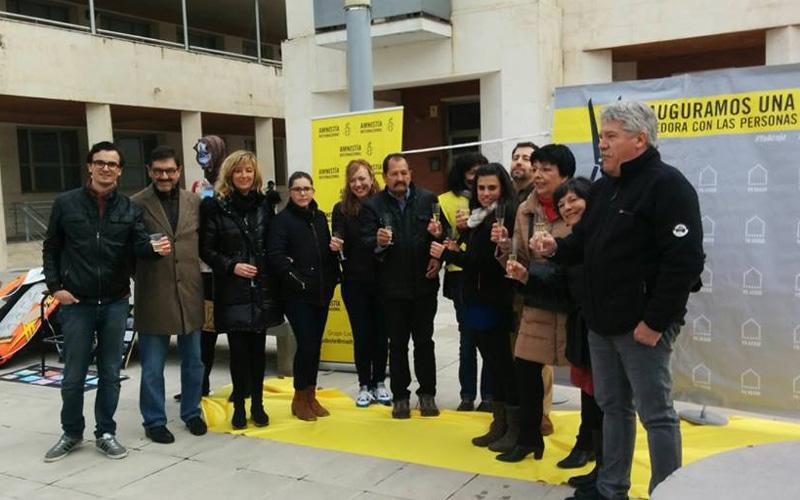 Rivas muestra su solidaridad como ciudad acogedora para los refugiados