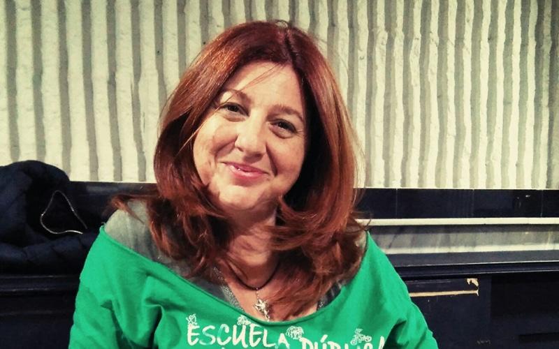Ana Lillo, presidenta de la Fapa Rivas