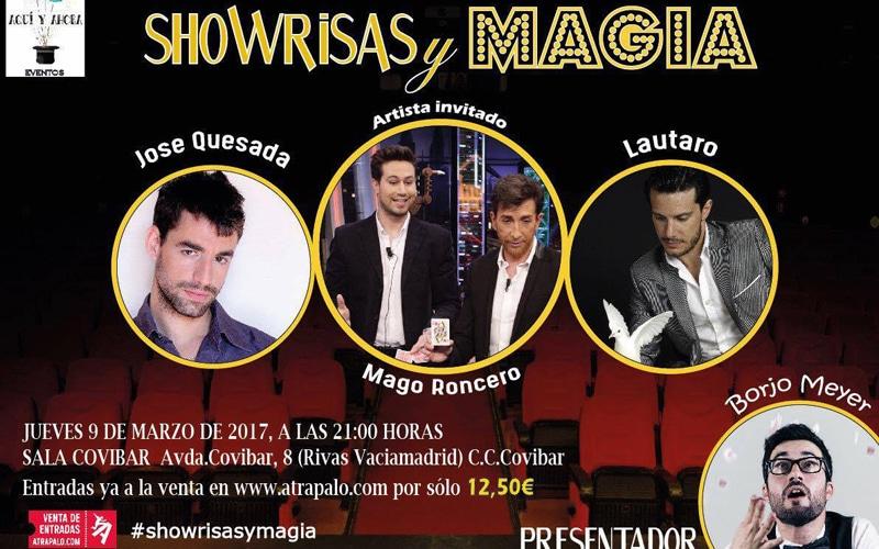 La Sala Covibar acoge este jueves 'Showrisas y magia'