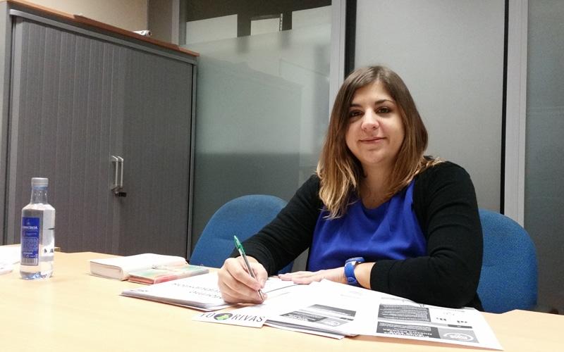 Carla de Nicolás, concejala de Rivas Puede