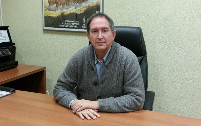 Jorge García, presidente de la cooperativa Covibar