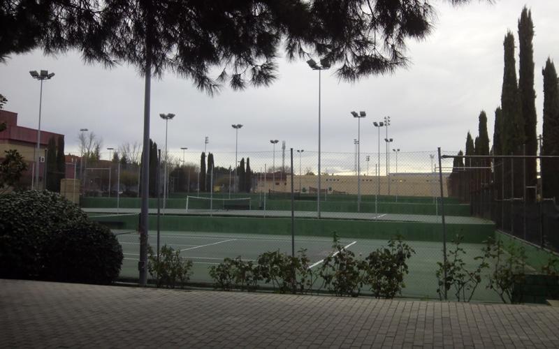 Pistas deportivas del polideportivo Cerro del Telégrafo