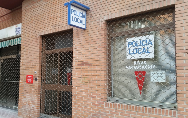 Local de la Policía Local en Covibar
