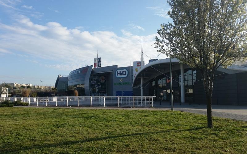 Centro comercial H2O, en Rivas Vaciamadrid