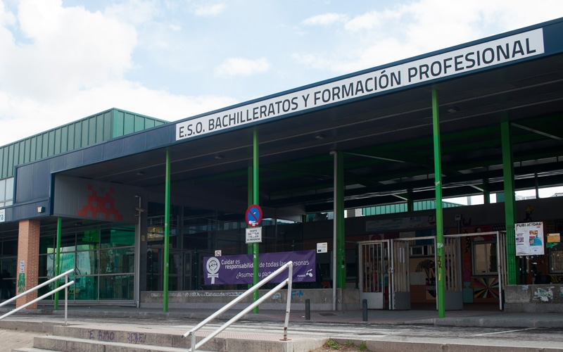 Edificio de FP de la CEM Hipatia-Fuhem