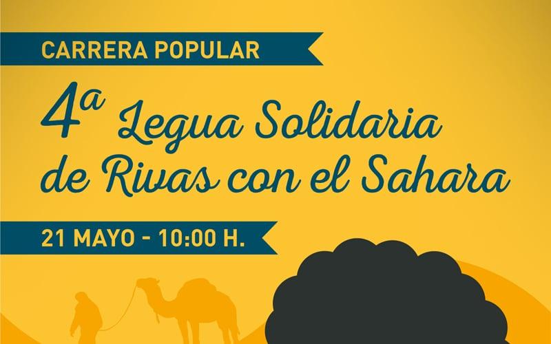 """Javier Fernández, presidente de Running Rivas: """"La Legua Solidaria servirá para comprar un remolque para llevar ayuda al pueblo saharaui"""""""