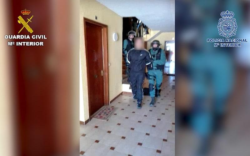 'Operación Airbag': cae una red de robo y tráfico ilícito de vehículos que operaba en varios municipios, entre ellos Rivas