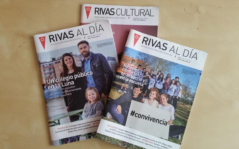 El Ayuntamiento de Rivas hará una encuesta a la ciudadanía sobre la revista municipal 'Rivas al día' tras un agrio debate en el Pleno