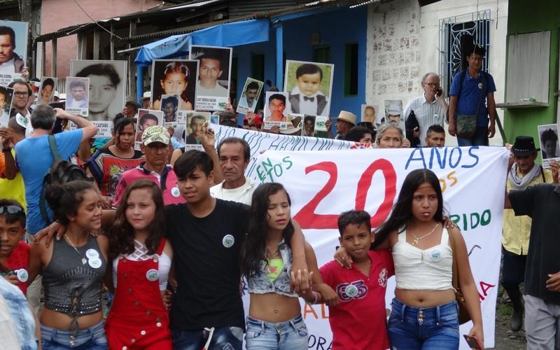 Comunidad de Paz de San José de Apartadó, en su vigésimo aniversario
