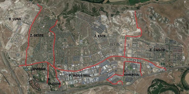 Robos, hurtos y delitos de daños en Rivas: todos los datos, barrio a barrio