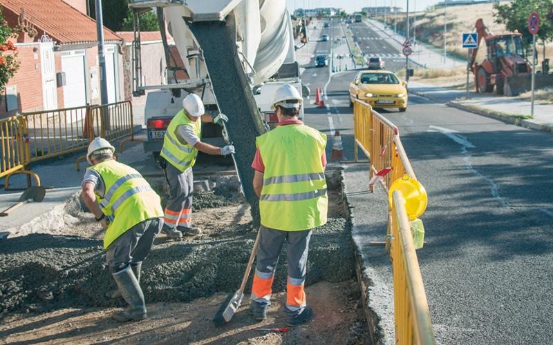 Más obras: este lunes comienza el reasfaltado de 21 calles de Rivas