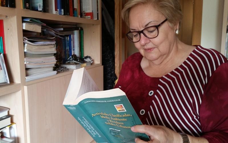 Inés de Nicolás, presidenta de Rivas Contaminación Zero