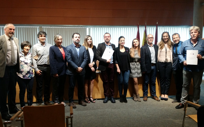 Nuevo gobierno de Rivas, formado por representantes de Somos Rivas y Rivas Puede