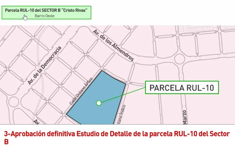 Parcela RUL-10 del Sector B 'Cristo de Rivas'