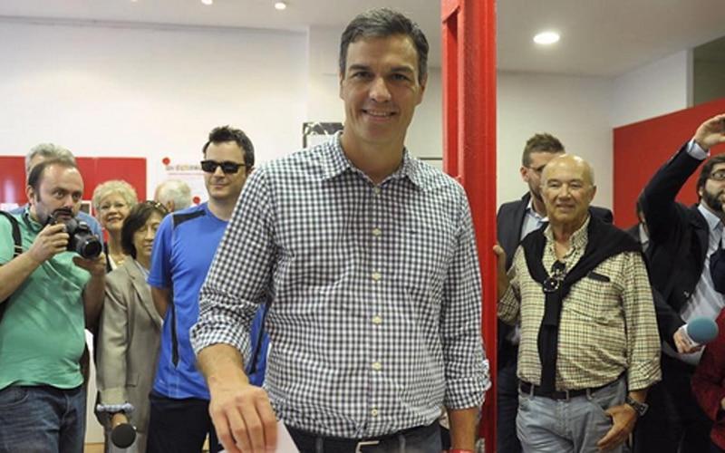 Pedro Sánchez, el candidato más votado por los socialistas ripenses