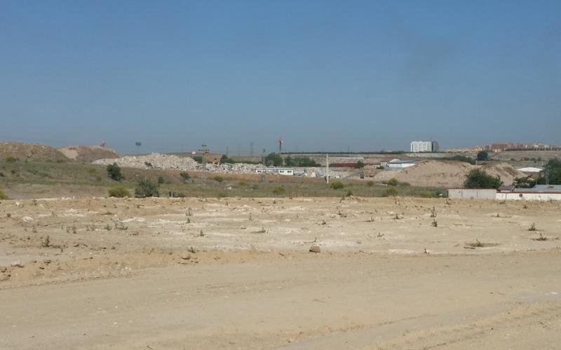 El vertedero ilegal del Camino de la Leña, tras su restauración