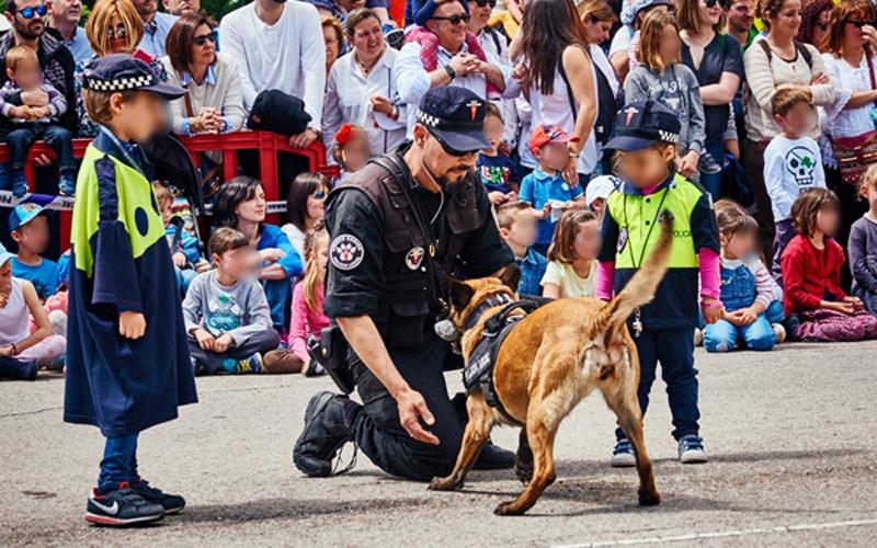 Unidad Canina de la Policía Local de Rivas Vaciamadrid