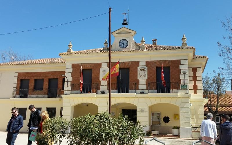 Sede del Ayuntamiento de Rivas Vaciamadrid en el Casco Antiguo