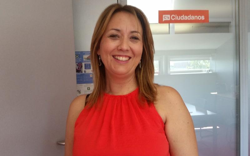 Beatriz Sobrino, portavoz del grupo municipal de Ciudadanos en el Ayuntamiento de Rivas Vaciamadrid