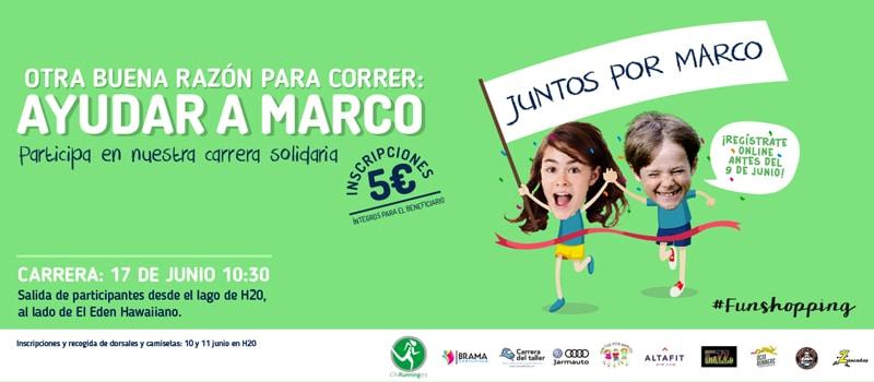 Carrera 'Juntos por Marco' en H2OCC