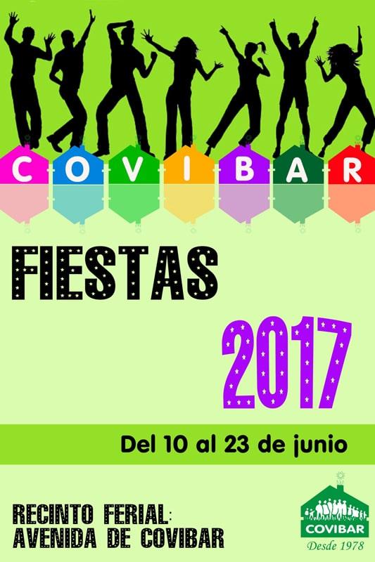 Cartel Fiestas de Covibar 2017