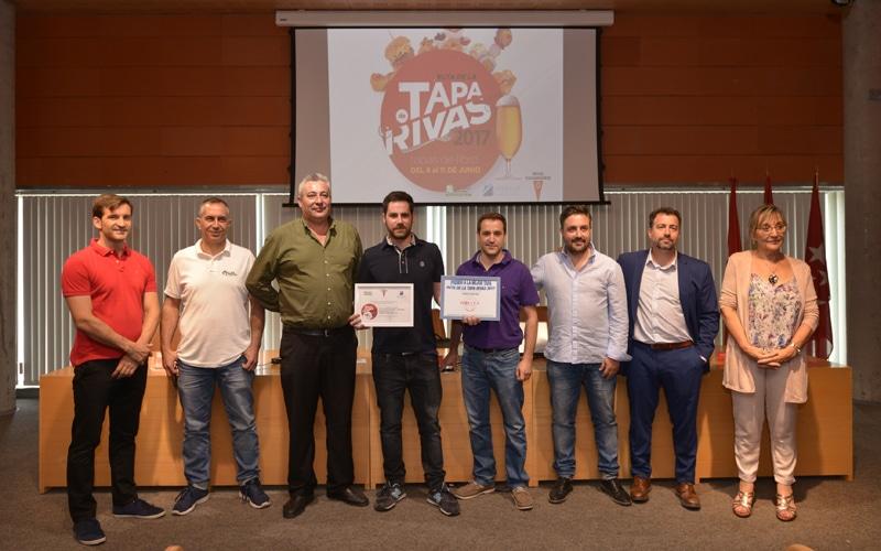 Pintxoteca Cobos gana la II Ruta de la Tapa de Rivas