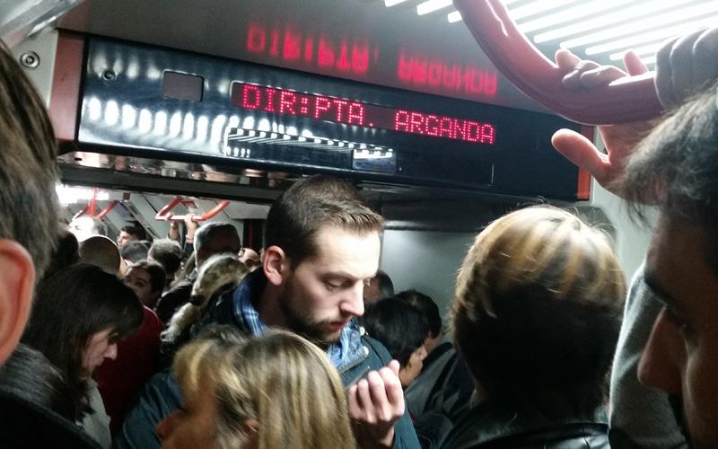 TFM amplía la capacidad de los trenes en hora punta