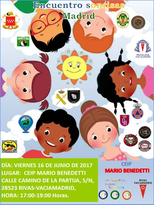 Cartel Asociación 'Sonrisas' CEIP Mario Benedetti