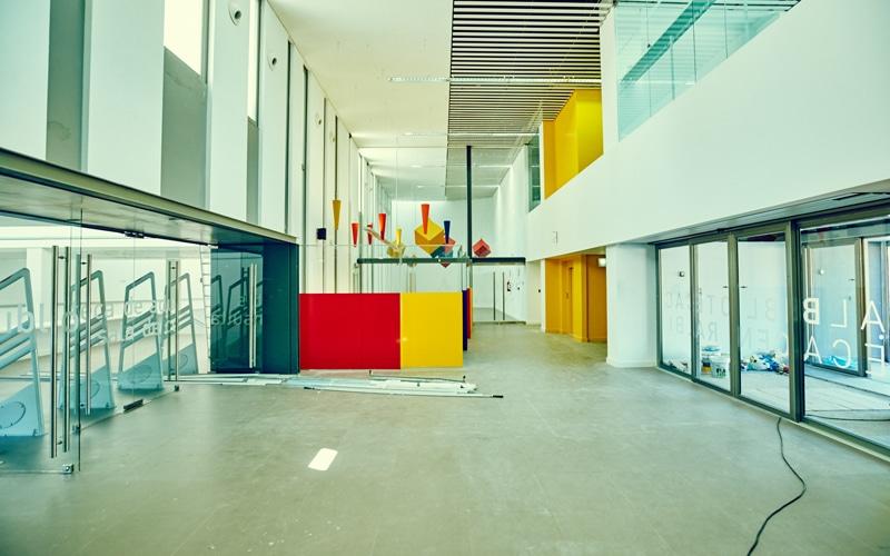 Así será la Biblioteca Central Gloria Fuertes, cuya apertura se retrasa otra vez: al menos, hasta otoño