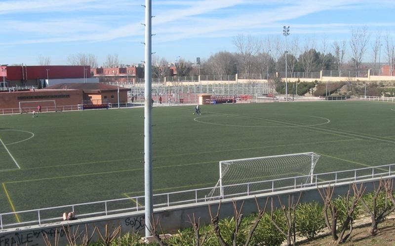 Campo de fútbol del polideportivo Cerro del Telégrafo