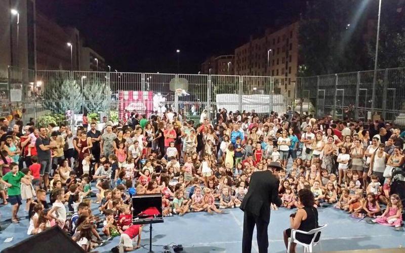 Fiestas del Barrio de la Luna en 2016
