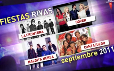 Cartel de las fiestas de Rivas de 2011