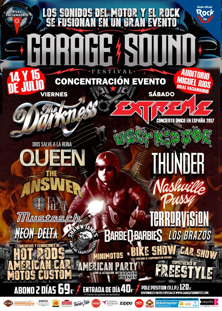 Cartel Garage Sound Fest completo