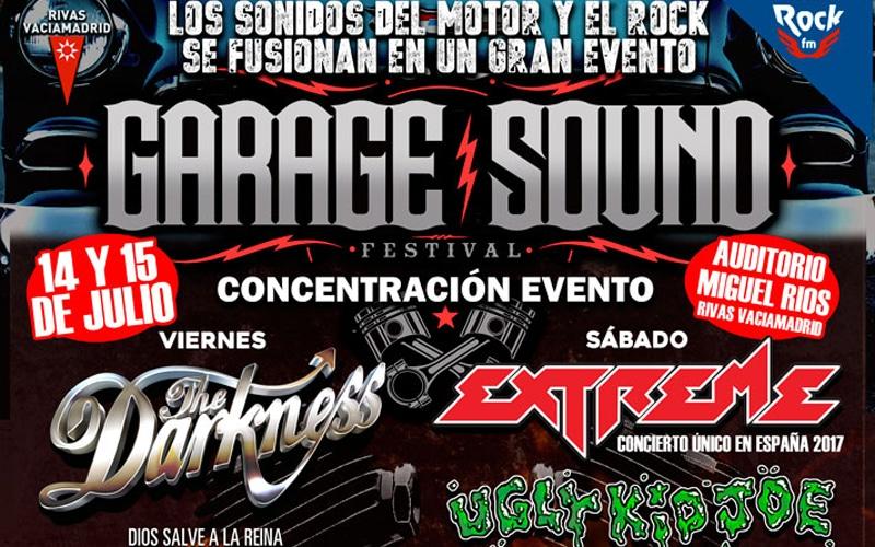 Motor y rock inundarán el Miguel Ríos este fin de semana en el Garage Sound Fest