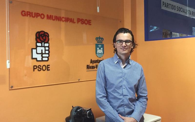 Rodrigo Parra, concejal del PSOE en Rivas