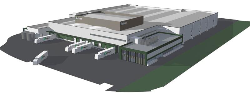 Infografía de la planta de Sediasa en Rivas Vaciamadrid