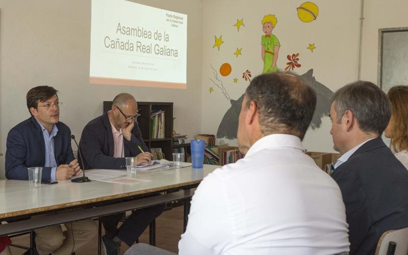 Sesión constitutiva de la Asamblea de la Cañada Real Galiana