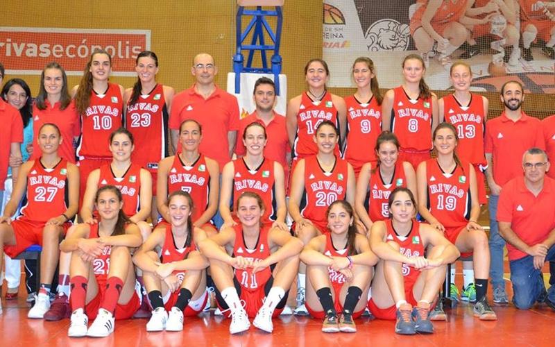 Plantilla del Basket Rivas Ecópolis (Fuente: Rivas Ecópolis).