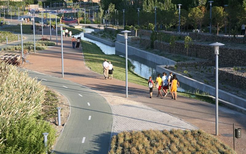 Parque Lineal de Rivas Vaciamadrid (Fuente: Ayuntamiento de Rivas Vaciamadrid)